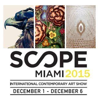 Joseph Gross Gallery at SCOPE Miami Beach 2015, installation view
