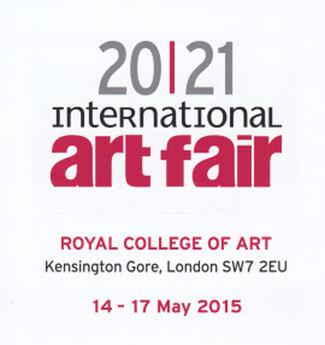 Plus One Gallery at 20|21 International Art Fair, installation view