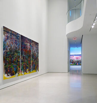 Ali Banisadr –Motherboard, installation view