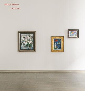 Marc Chagall - c'est la vie ..., installation view