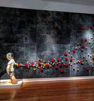 Joonsang Park Solo Exhibition, installation view