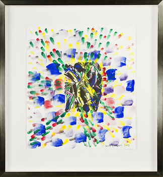 Sylvia Spicuzza -- Wassily Kandinsky -- Homage to Wassily Kandinsky by David Barnett, installation view