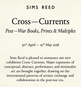 Cross-Currents: Post-War Books, Prints & Multiples, installation view