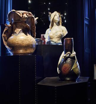 The Bizarre Genius of the Teplitz Kunstkeramik Workshops, installation view