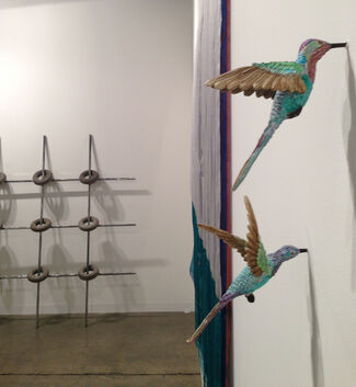 CRG Gallery at Art Basel in Miami Beach 2014, installation view