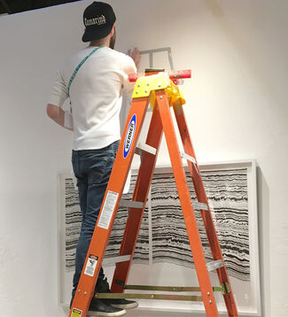 Tamarind Institute at IFPDA Print Fair 2016, installation view