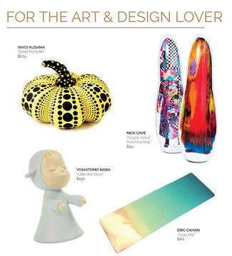 2016 ArtStar Holiday Gift Guide, installation view