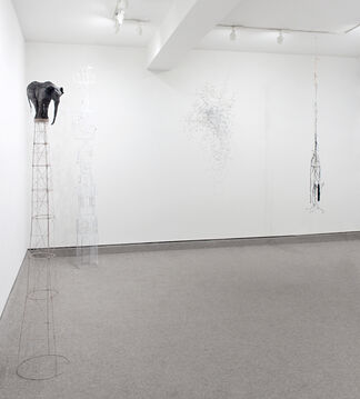 SALLY MOORE: REROUTE / REROOT, installation view