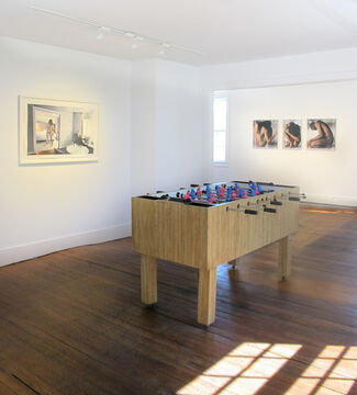 Undressed, installation view