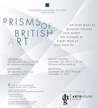 Prisms Of British Art, installation view