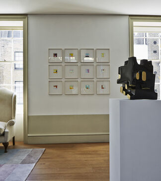 In Residence II : Oliver Sears Gallery in London, installation view