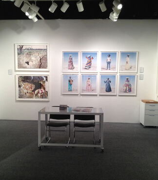 KLOMPCHING GALLERY at AIPAD Photography Show 2014, installation view