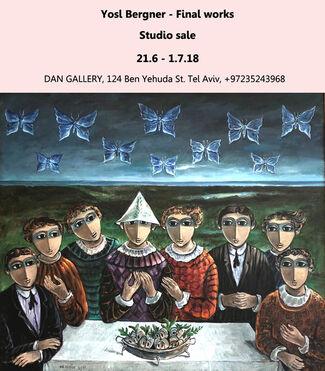 Yosl Bergner - Final works - Studio sale, installation view