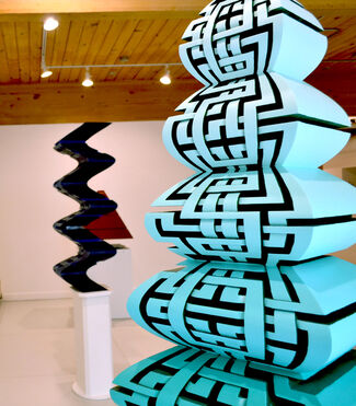 Mark Ollinger - Lines Drawn, installation view