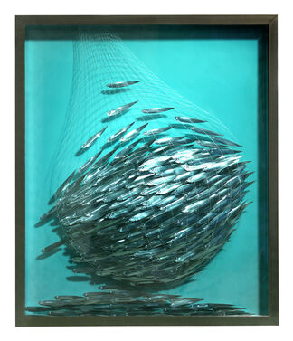 The Life of Fish: told through the work of Yorgos Kypris, installation view