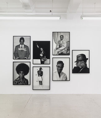 Samuel Fosso, installation view