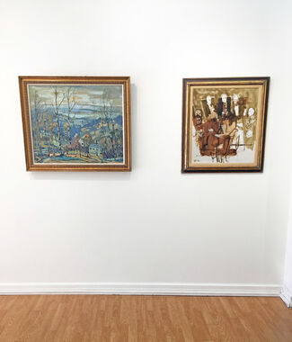 ART FOR HOLIDAY GIVING, installation view