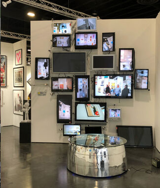 End to End Gallery at Art Palm Beach 2018, installation view