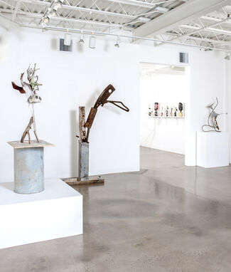 The Deeper The Southern Roots, installation view