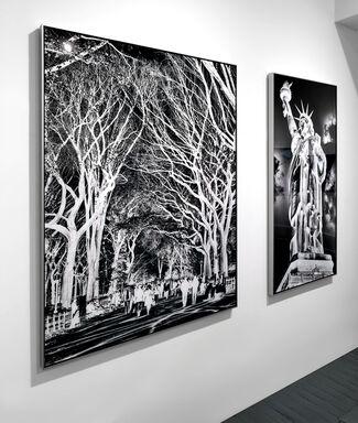 Inverted New York, installation view