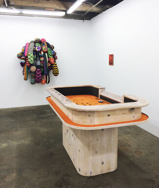 When the Sun Hits, installation view