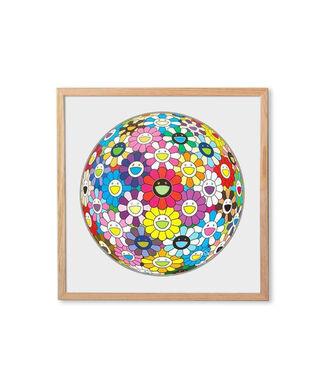 Flower ball &more by Takashi Murakami, installation view