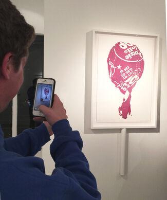Dave Lefner - Bright, Shiny & Sweet, installation view