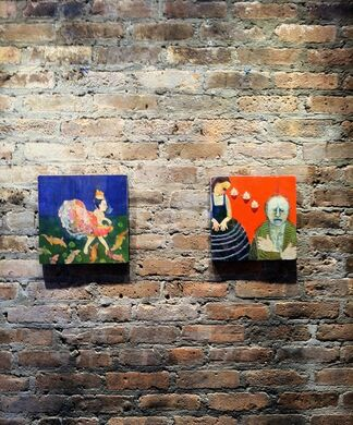 Spellbound: Recent Paintings by Deirdre O'Connell, installation view