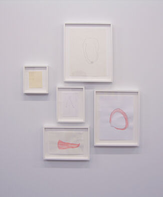 Papered Stories; 14 Artists Dealing with Paper, installation view