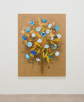 Roland Reiss: Floral Paintings and Miniatures, installation view