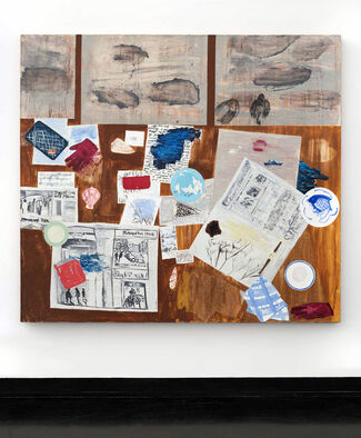 Dona Nelson: Stand Alone Paintings, installation view