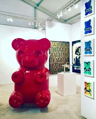 Oliver Cole Gallery at Art Wynwood 2017, installation view