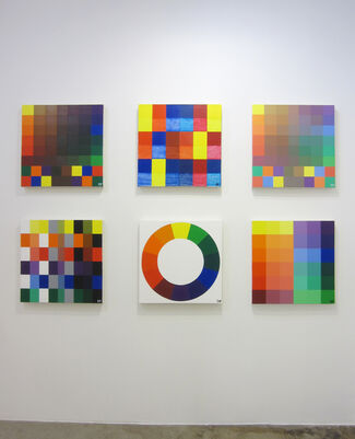 Damon Freed: The Correspondence of Color, installation view