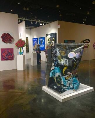 Oliver Cole Gallery at Art Palm Beach 2017, installation view