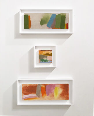 Leslie Feely at Art Miami 2018, installation view