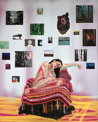 Kim Dorland, Look Out, installation view