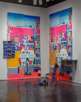Ann Agee: The Kitchen Sink, installation view