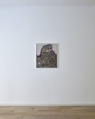 The wind from nowhere curated by Eugenia Delfini, installation view