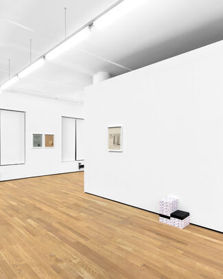 Material, installation view