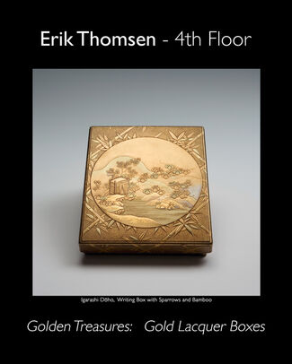 Golden Treasures: Gold Lacquer Boxes, installation view