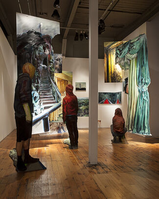 The Red Head Gallery at Art Toronto 2015, installation view