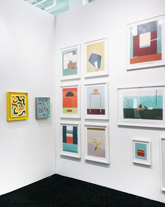 Uprise Art at Art on Paper New York 2017, installation view