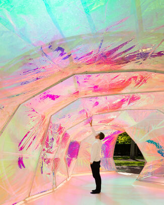 Serpentine Pavilion 2015 designed by selgascano, installation view