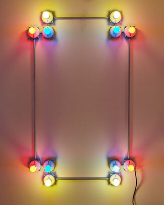 G.T. PELLIZZI | CONSTELLATION IN RED, YELLOW AND BLUE, installation view