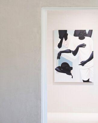 Body, Curtain, Advance, installation view