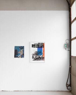 Rouge Blanc Bleu, installation view
