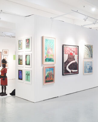 Fleisher/Ollman at Outsider Art Fair 2015, installation view