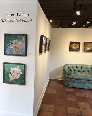 "Karen Killian: ""It's Cocktail Hour!"", installation view"