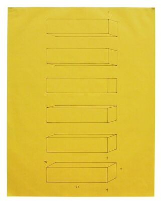 Donald Judd 'Working Papers: Donald Judd Drawings, 1963-93', installation view