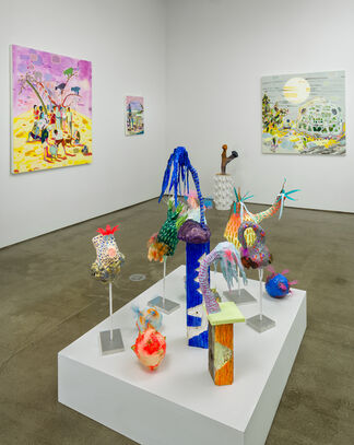 Melanie Daniel: Late Bloomers, installation view
